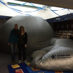 Set up a planetarium in your library